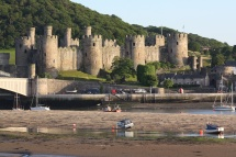 Conwy Castle near to Kingsley Holiday Park, North Wales