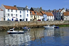 St Monans harbour near to St Monans Holiday Park