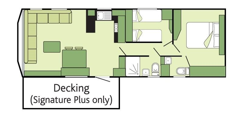 Signature plus holiday homes at st monans abbeyford leisure for Holiday home builders floor plans