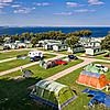 Spires View Tent Field at St Andrews Holiday Park