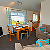 Lodges at Elie Holiday Park - open plan living