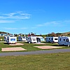 Forth View touring pitches close to the beach