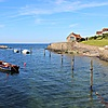 The harbour at Lower Largo
