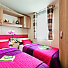 The Castaway holiday home - twin bedroom