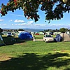 Tent pitches at St Andrews Holiday Park