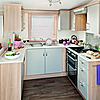 The Castaway holiday home - kitchen