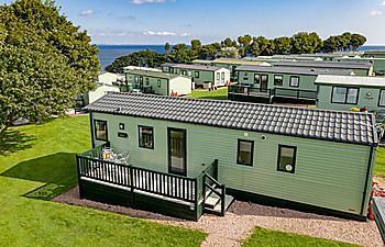 Typical Signature Plus holiday home at St Andrews Holiday Park