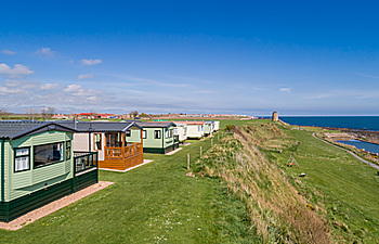Spectacular sea views from the Signature Plus holiday homes at St Monans Holiday Park