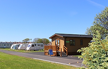 Touring pitches at St Monans Holiday Park