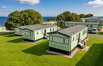 Typical Signature holiday home at St Andrews Holiday Park