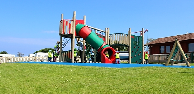 Fun play at St Andrews Holiday Park