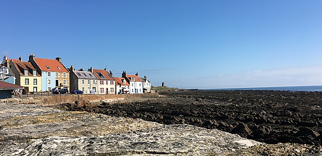 St Monans at low tide