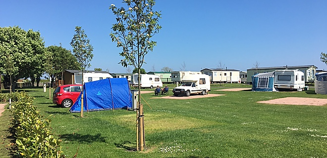 Newark touring & tent field at St Monans Holiday Park