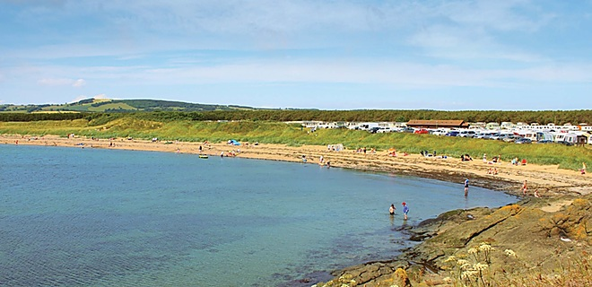 Shell Bay at Elie Holiday Park