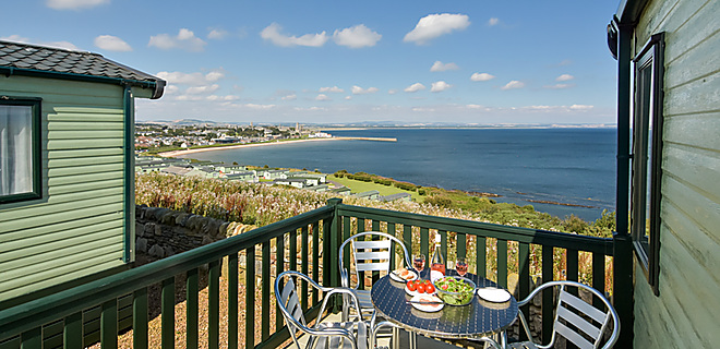 Sea views from the Connoisseur holiday homes