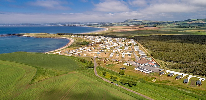 Multi-award-winning Elie Holiday Park