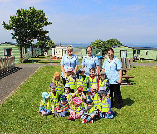 Tots have top time at St Andrews Holiday Park