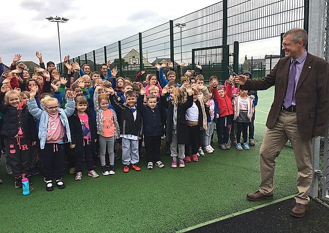 Multi Use Games Area opens in St Monans