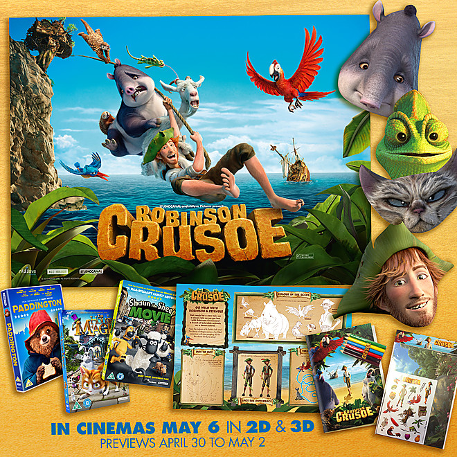 Robinson Crusoe, New Animated Movie