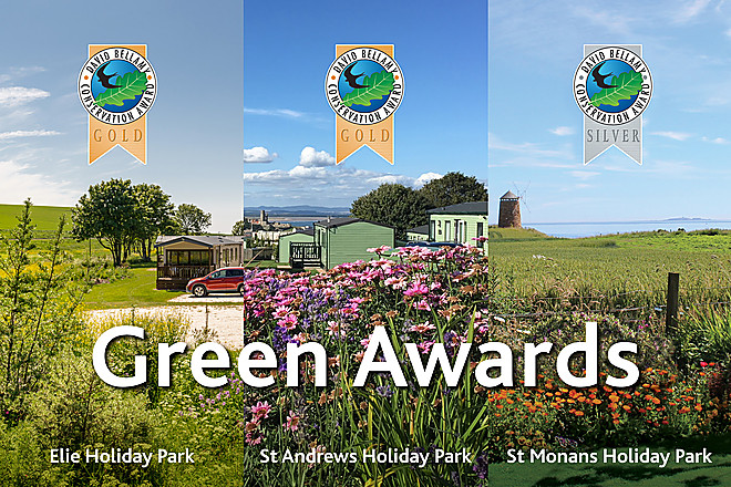 Fife parks celebrate David Bellamy green awards