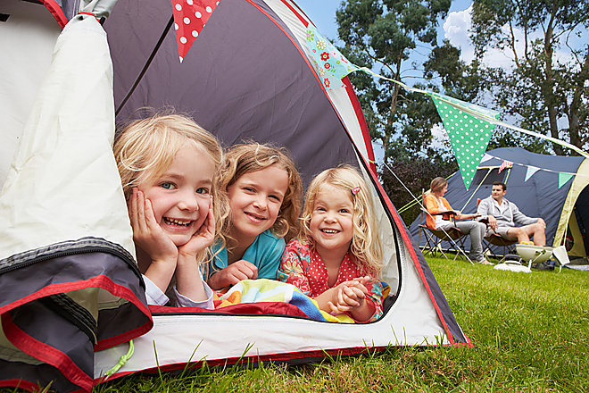 Tent pitches - book 5 nights & your first night is free^