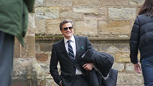 Colin Firth in St Monans