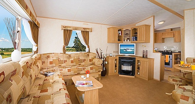 Typical lounge - pre-owned holiday home