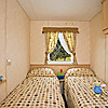 Typical twin bedroom - pre-owned holiday home