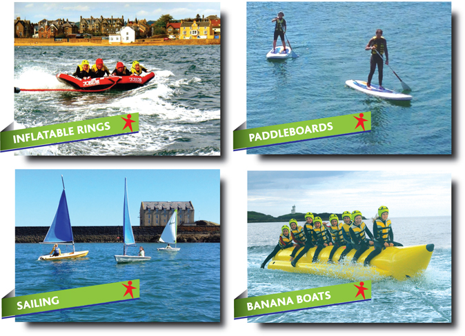 Watersports in Fife - Abbeyford Active