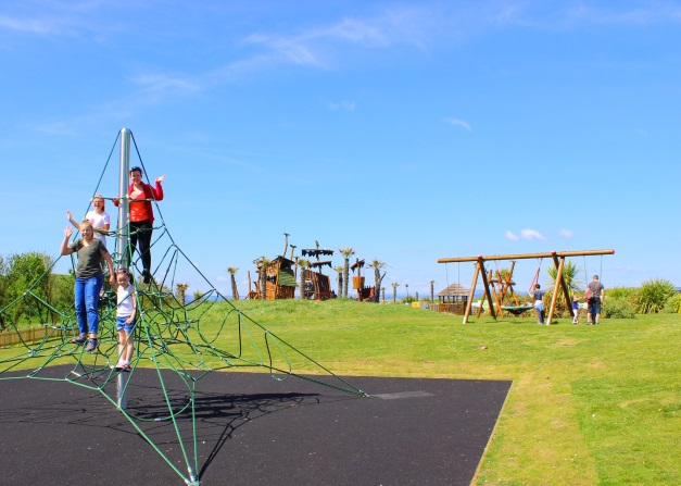 Robinson Crusoe Adventure Park at Elie Holiday Park