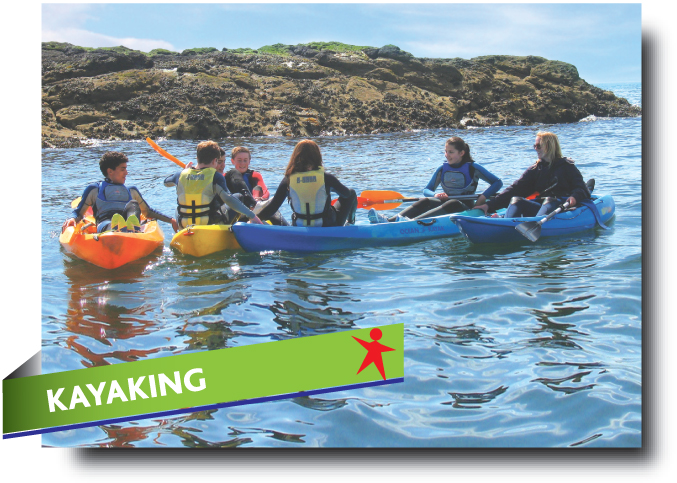 Kayaking in Fife - Abbeyford Active