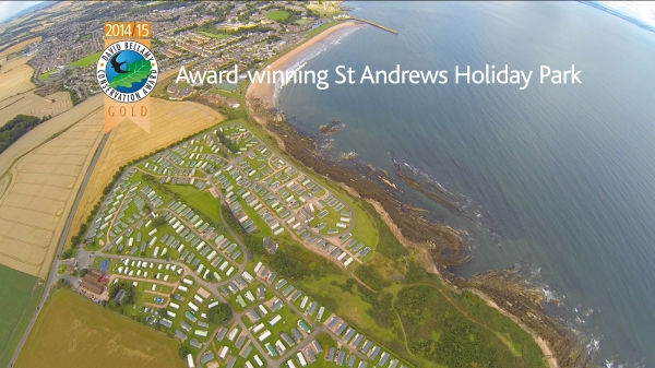 St Andrews Holiday Park David Bellamy Award