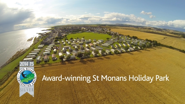 St Monans Holiday Park David Bellamy Award