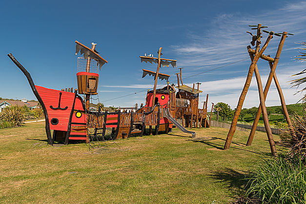 The Robinson Crusoe Adventure Park, Elie Holiday Park