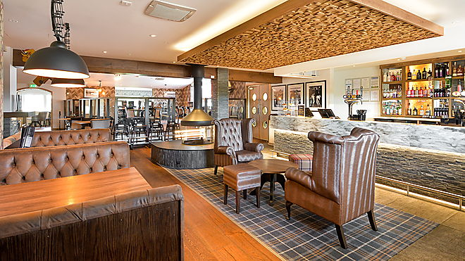 The Braes Bar & Restaurant, St Andrews Holiday Park