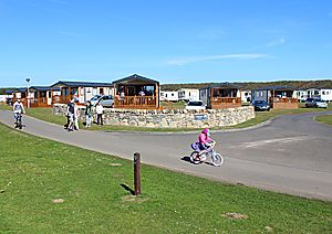 Castaway holiday homes at Elie Holiday Park