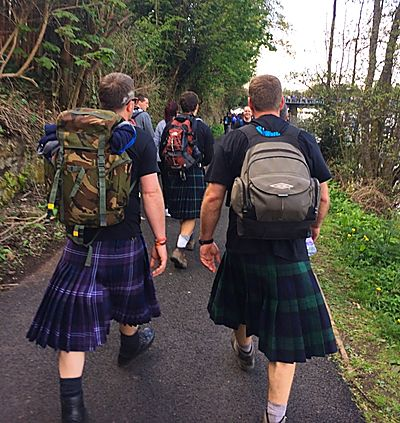 Team Abbeyford KiltWalk 2