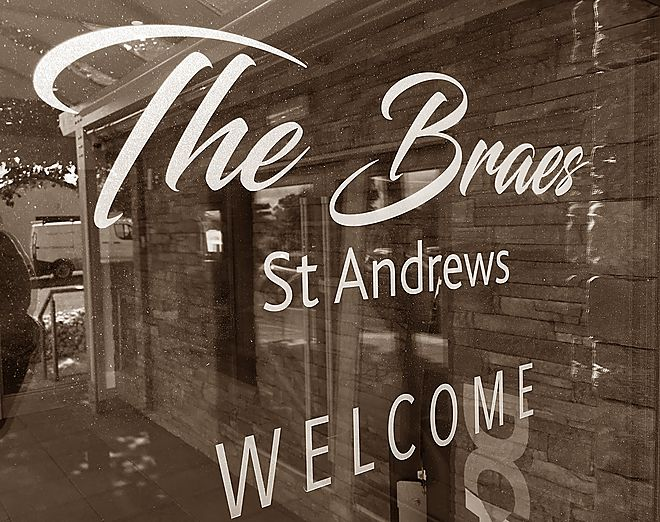 The Braes, bar & restaurant, St Andrews